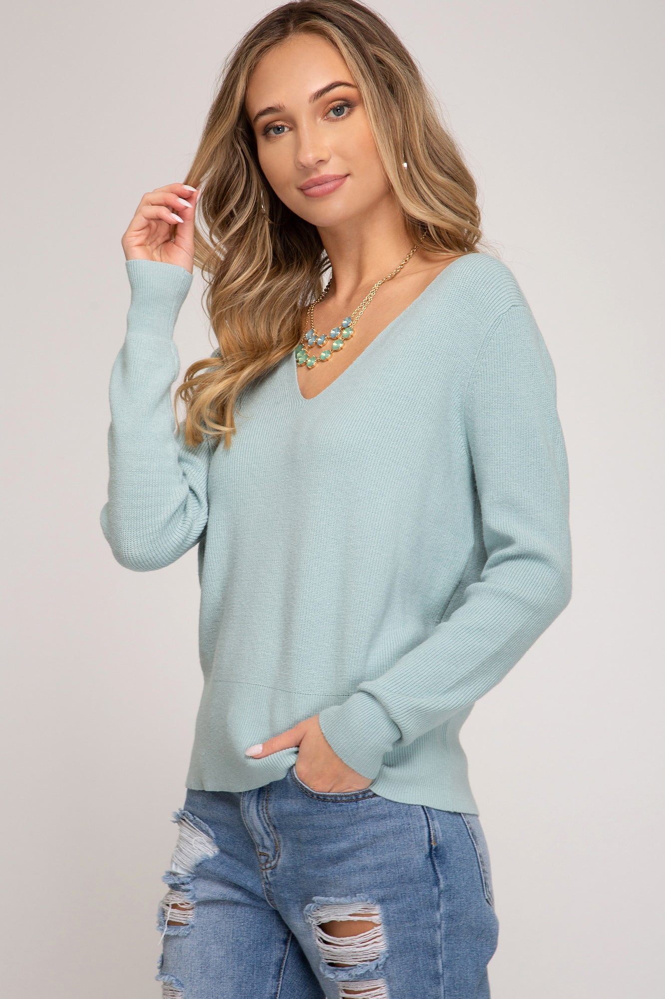 Sea Spray sweater