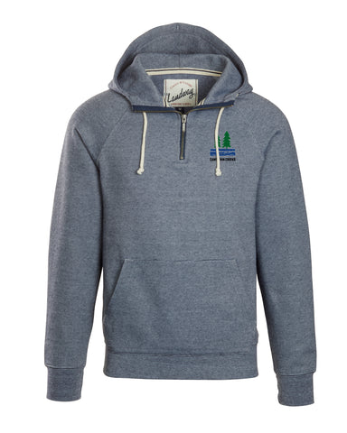 1/4 Zip Hooded Sweatshirt