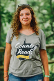 Country Roads Ladies V-Neck
