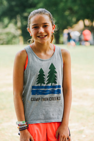 Youth Grey Tank Top