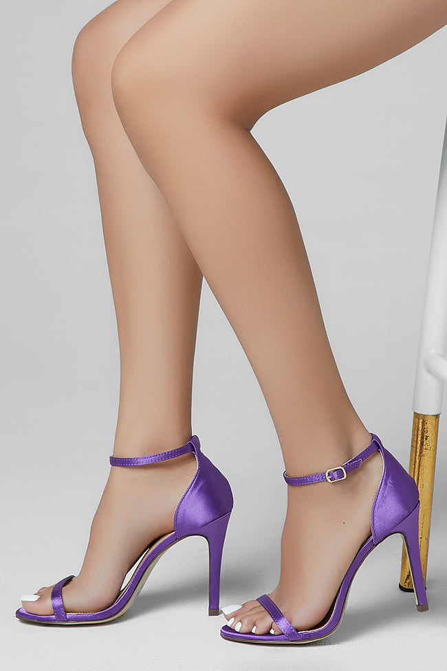Lava Single Sole High Heel Purple