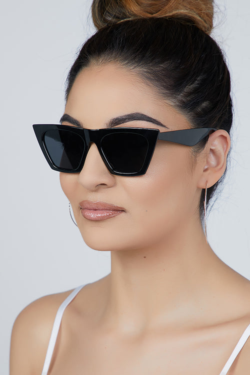 Bad Gal Sunglasses Black