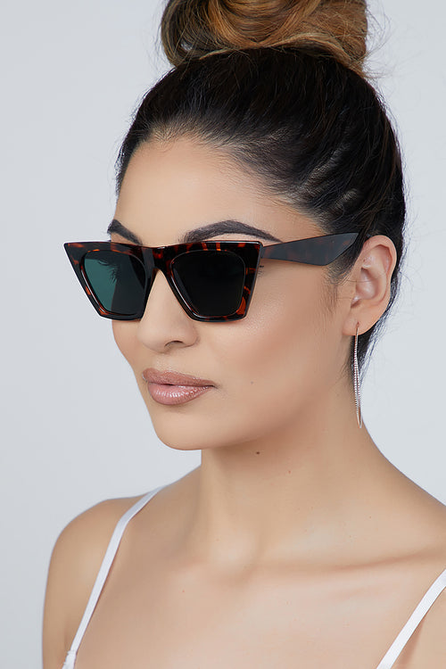Bad Gal Sunglasses Tortoise