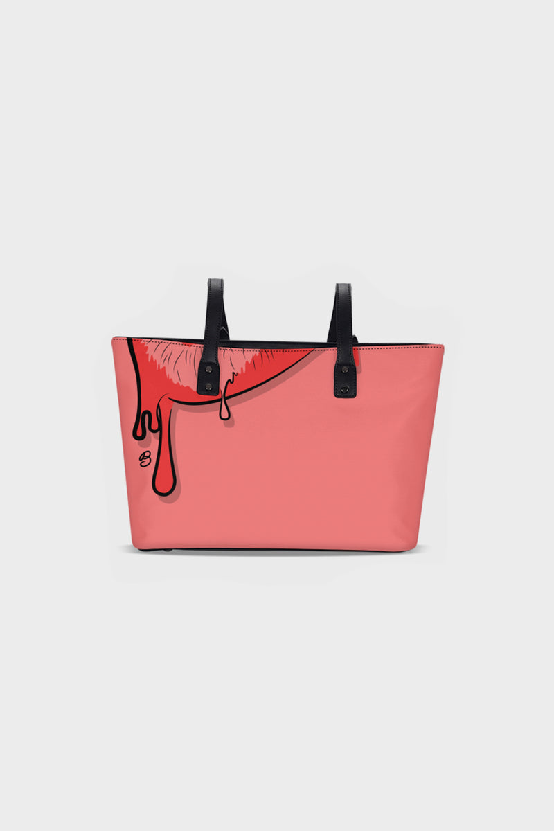 Drippy Tote Bag (001)