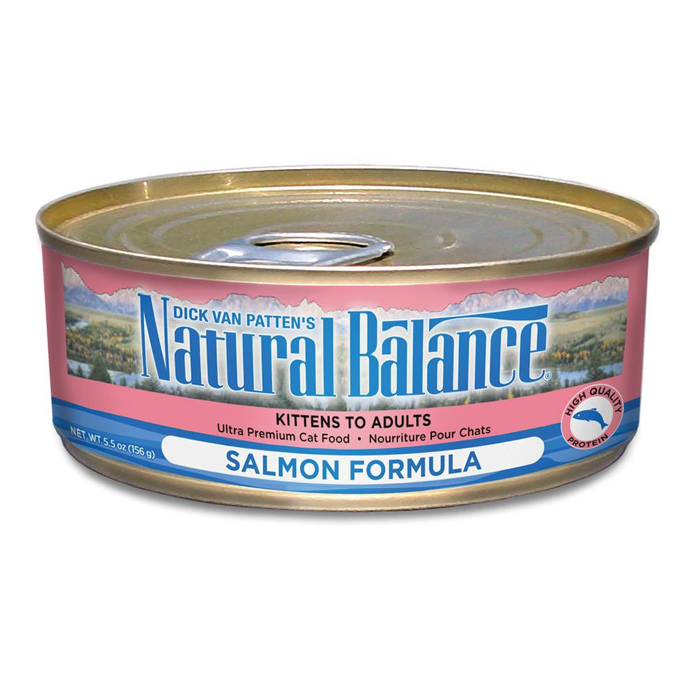 NATURAL BALANCE CAT SALMON FORMULA 5.5OZ