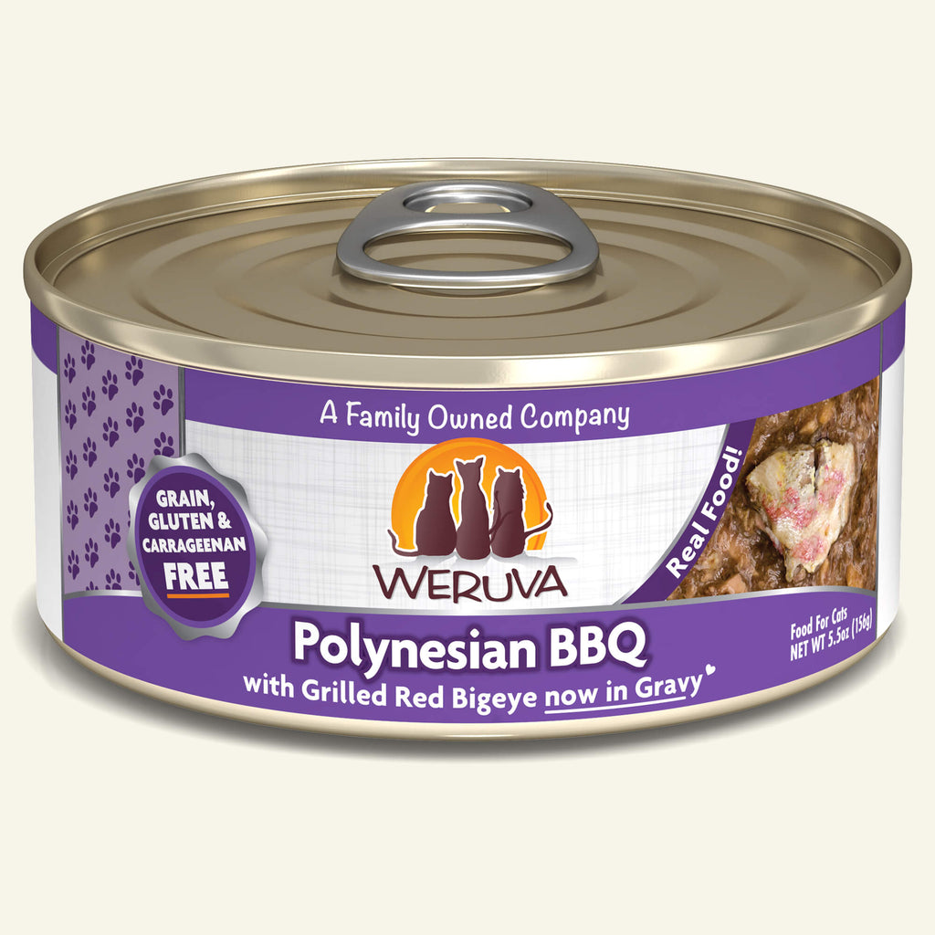 Weruva Classics Polynesian BBQ, 5.5oz Cat Food