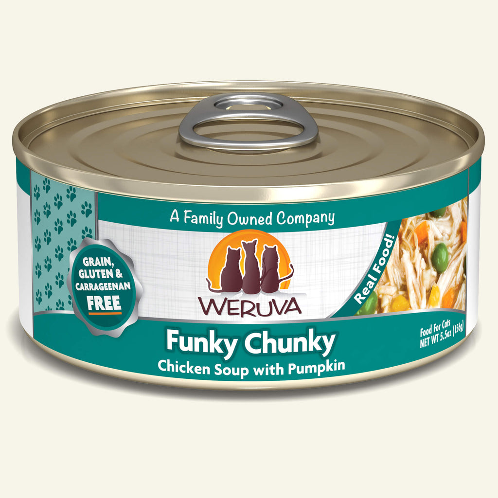 Weruva Classics Funky Chunky, 5.5oz Cat Food