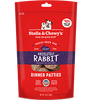 STELLA & CHEWY'S ABSOLUTELY RABBIT  FREEZE DRIED DINNER PATTIES, DOG 14OZ