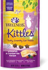 WELLNESS KITTLES WHITEFISH & CRANBERRIES RECIPE 2OZ