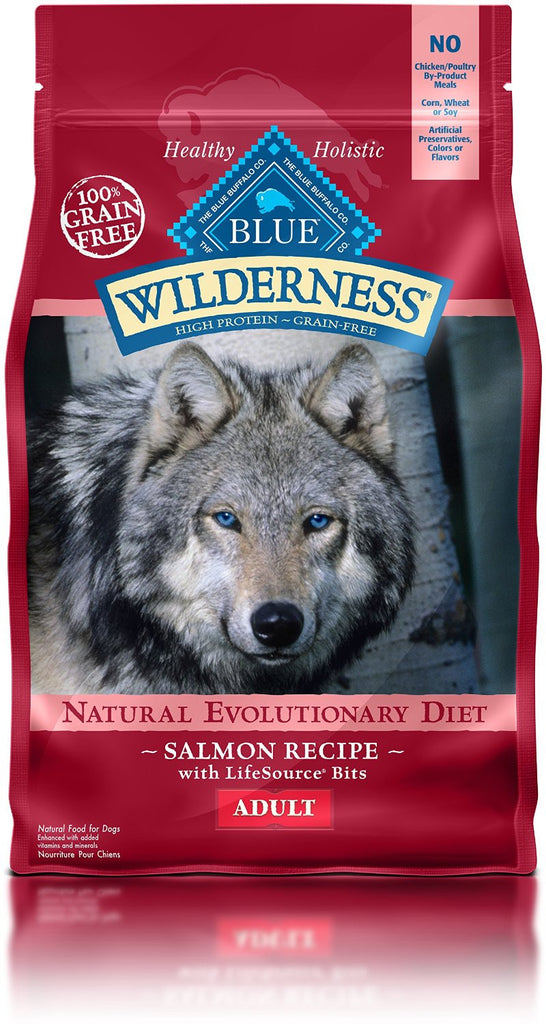 BLUE BUFFALO DOG WILDERNESS SALMON 4.5LBS