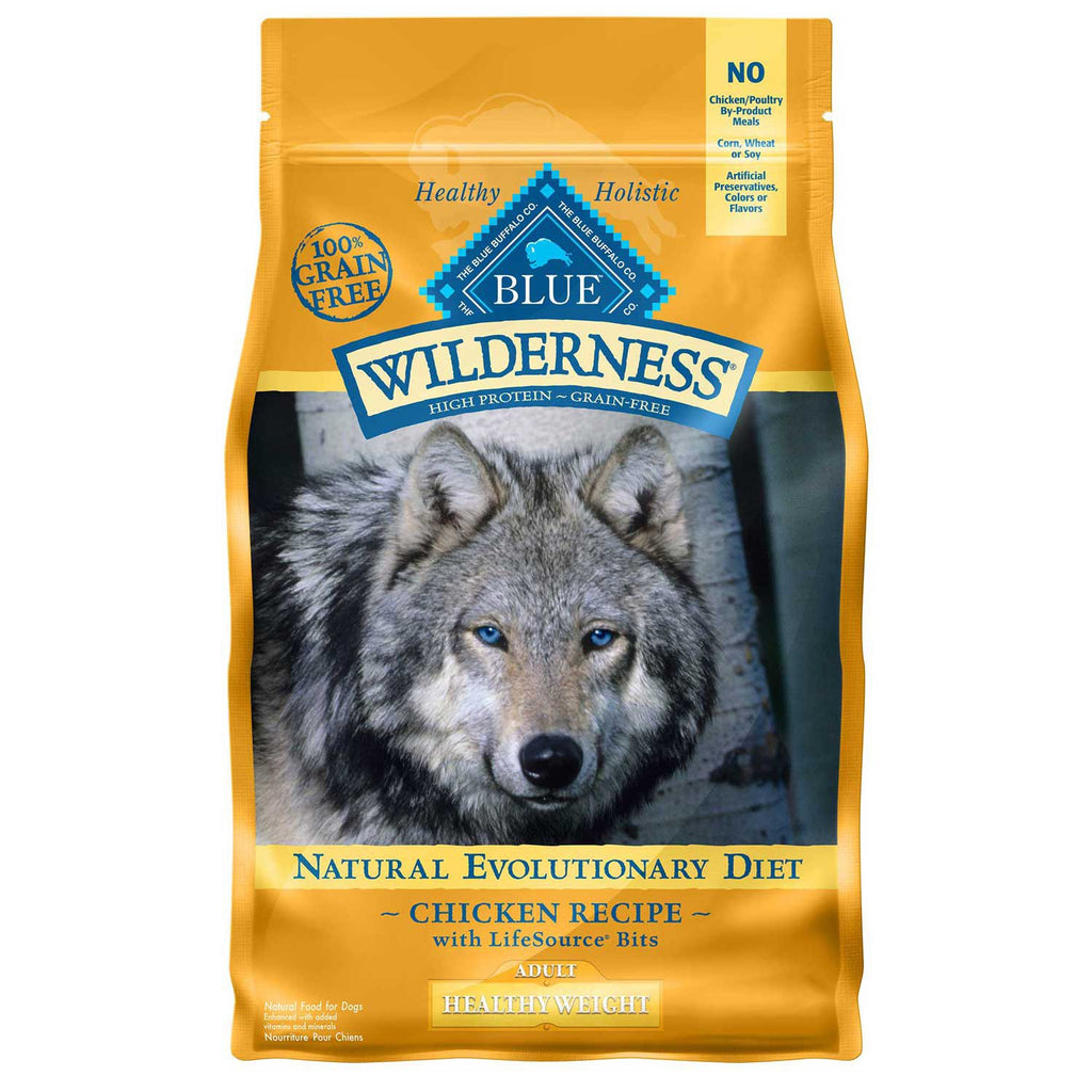 BLUE BUFFALO DOG WILDERNESS HEALTHY WEIGHT CHICKEN 4.5LBS