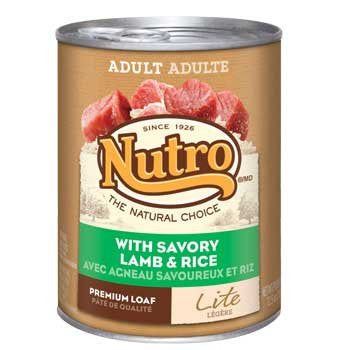 NUTRO NATURAL CHOICE DOG LITE LAMB & RICE 12.5OZ