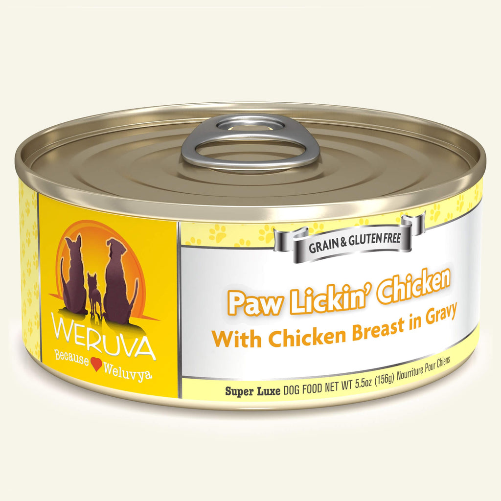 Weruva Classics Paw Lickin' Chicken, 5.5oz Dog Food