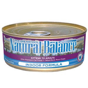 NATURAL BALANCE CAT INDOOR FORMULA 5.5OZ