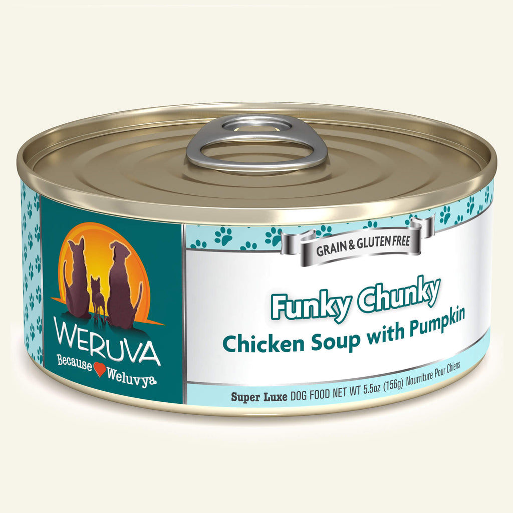 Weruva Classics Funky Chunky, 5.5oz Dog Food