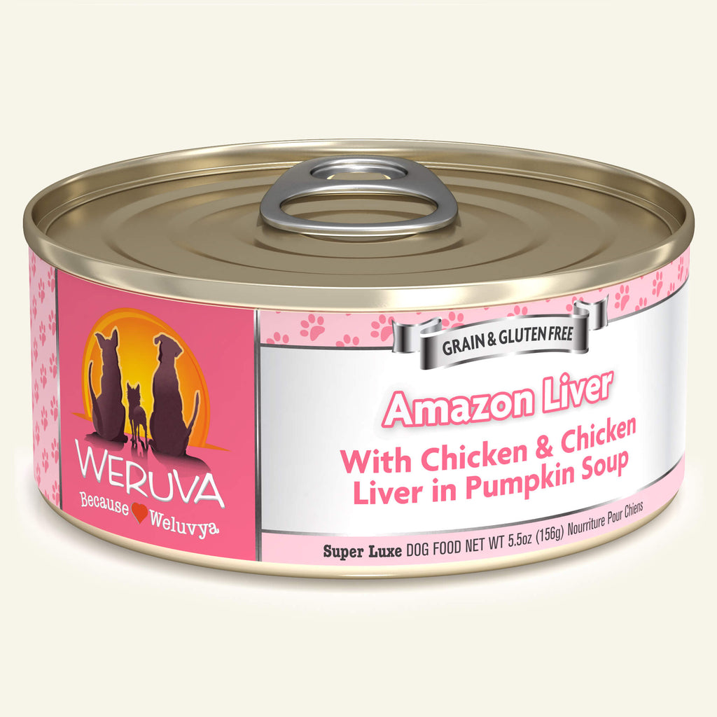Weruva Classics Amazon Liver, 5.5oz Dog Food