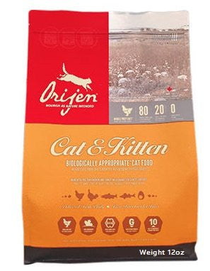 ORIJEN CAT & KITTEN 12OZ