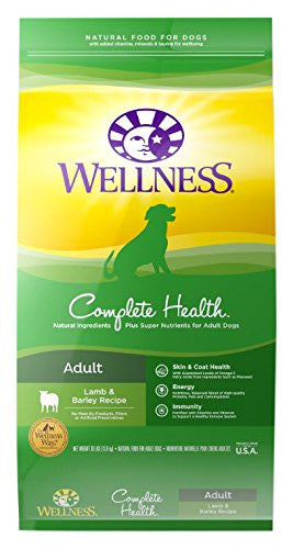 WELLNESS DOG COMPLETE HEALTH LAMB 30LBS