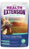 HEALTH EXTENSION DOG GRAIN FREE CHICKEN & TURKEY 4LBS