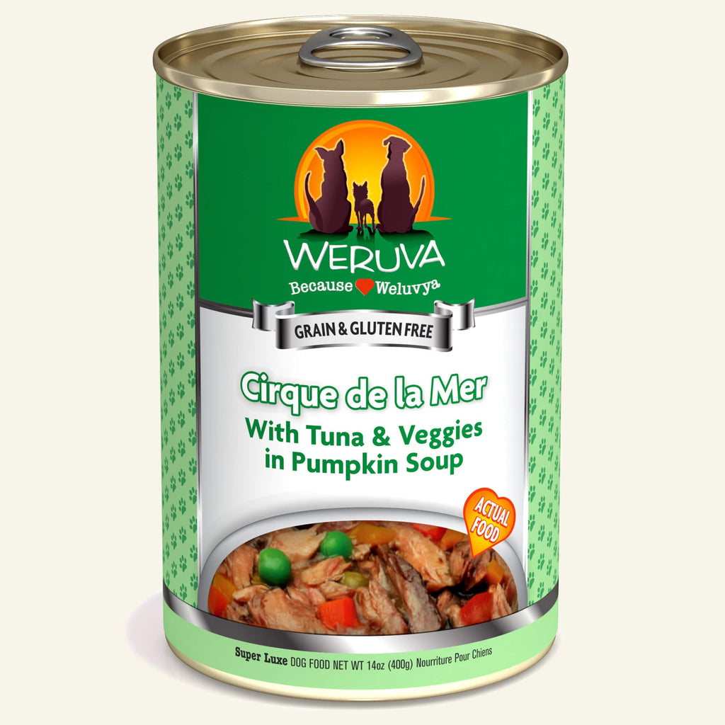Weruva Classics Cirque de la Mer, 14oz Dog Food