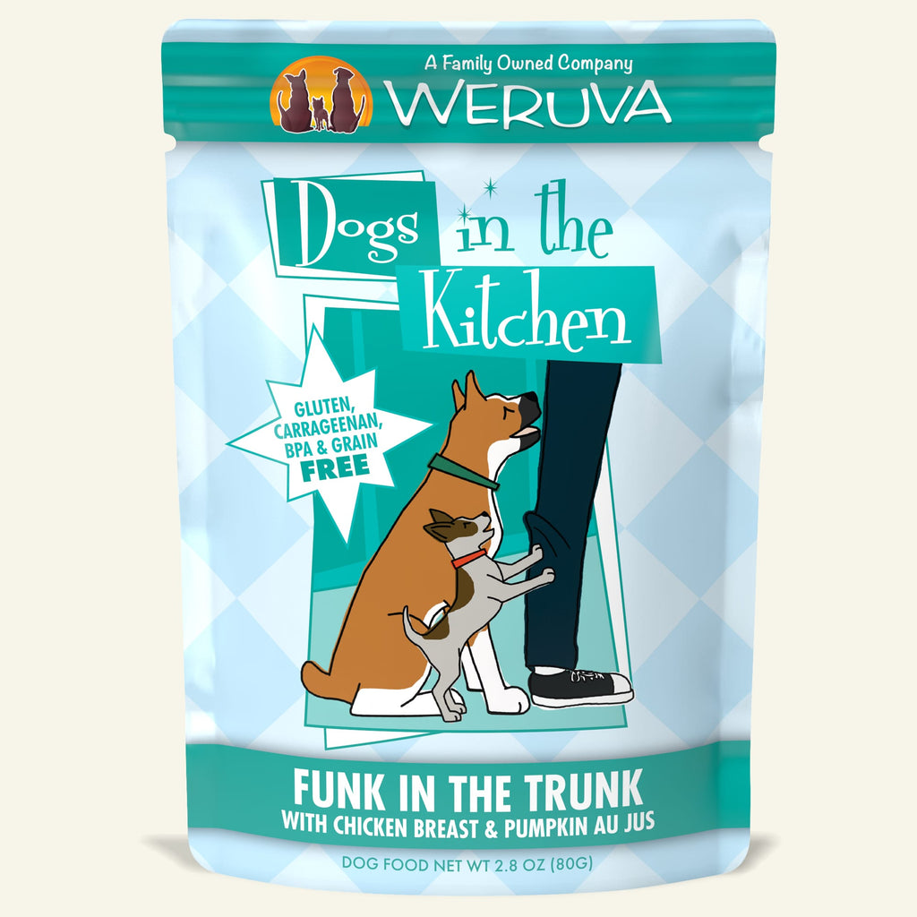 Weruva Dogs in the Kitchen Pouch Funk In The Trunk, 2.8oz Dog Food