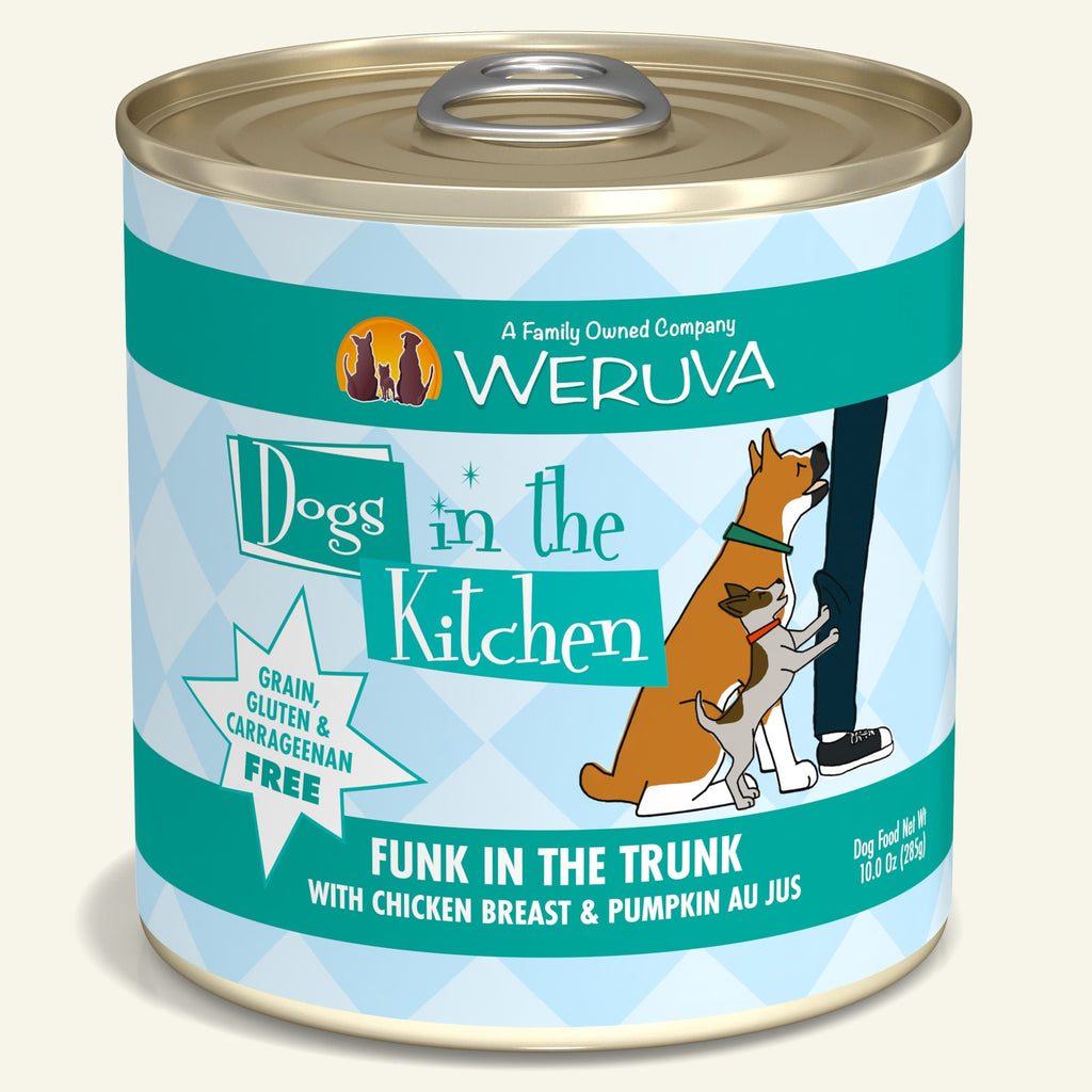 Weruva Dogs in the Kitchen Funk In The Trunk, 10oz Dog Food