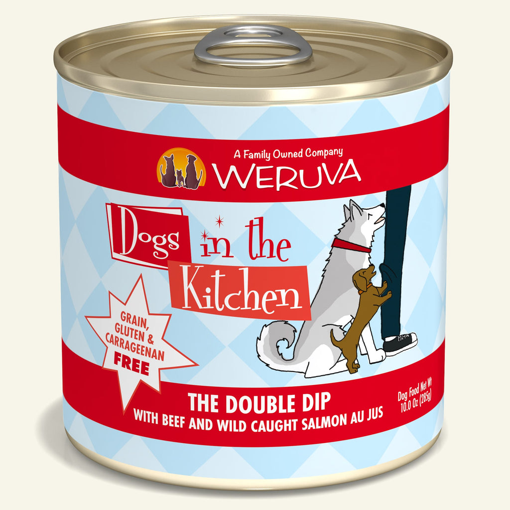 Weruva Dogs in the Kitchen The Double Dip, 10oz Dog Food