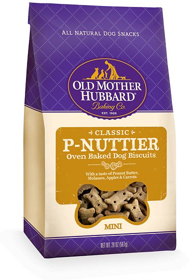 Old Mother Hubbard Classic P-Nuttier Biscuits Mini 20oz.