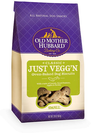 Old Mother Hubbard Classic Just Vegg'N Biscuits Small 20oz.