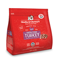 STELLA & CHEWY'S TANTALIZING TURKEY FROZEN DINNER MORSELS, DOG 4LBS
