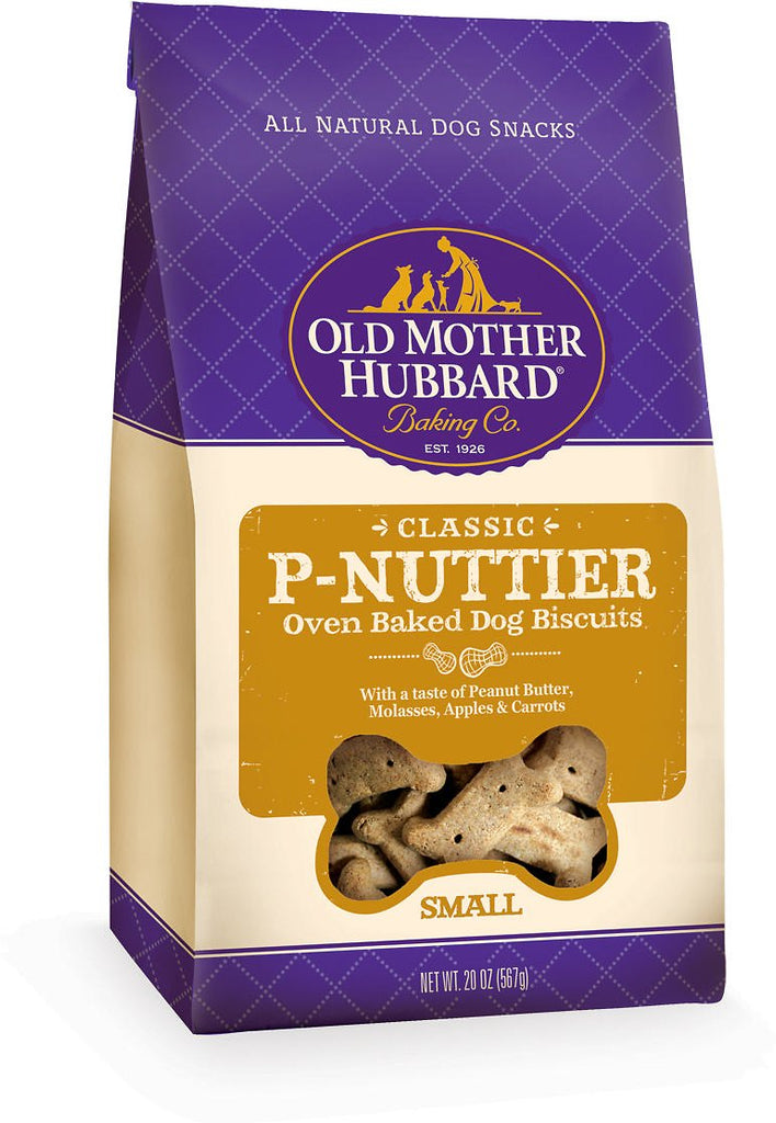 Old Mother Hubbard Classic P-Nuttier Biscuits Small 20oz.