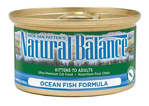 NATURAL BALANCE CAT OCEAN FISH FORMULA 3OZ