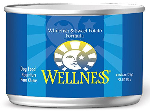 WELLNESS DOG WHITEFISH & SWEET POTATO 6OZ