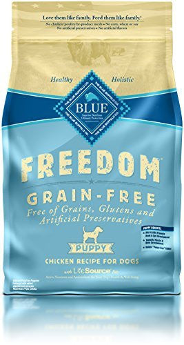 BLUE BUFFALO PUPPY FREEDOM GRAIN FREE CHICKEN 6LBS