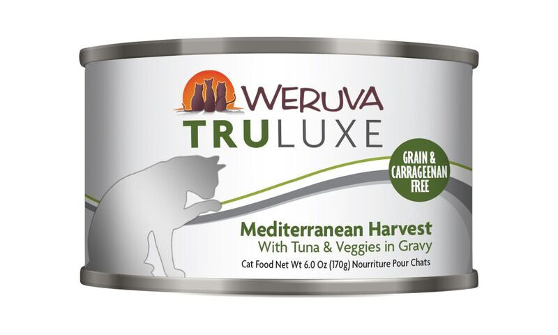 Weruva Tru Luxe Mediterranean Harvest, 6oz Cat Food