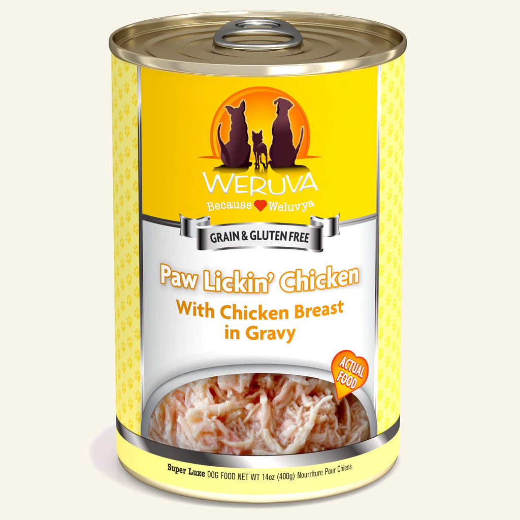 Weruva Classics Paw Lickin' Chicken, 14oz Dog Food
