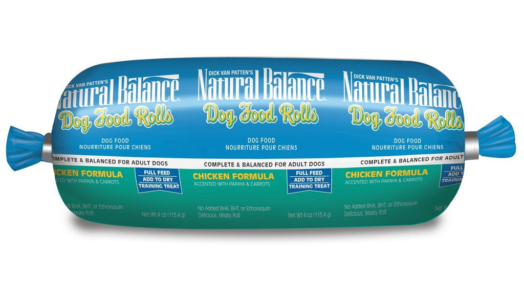 NATURAL BALANCE DOG CHICKEN ROLL 4OZ