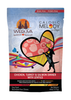 WERUVA DOG CALORIC MELODY CHICKEN, TURKEY & SALMON DINNER WITH LENTILS 4LBS