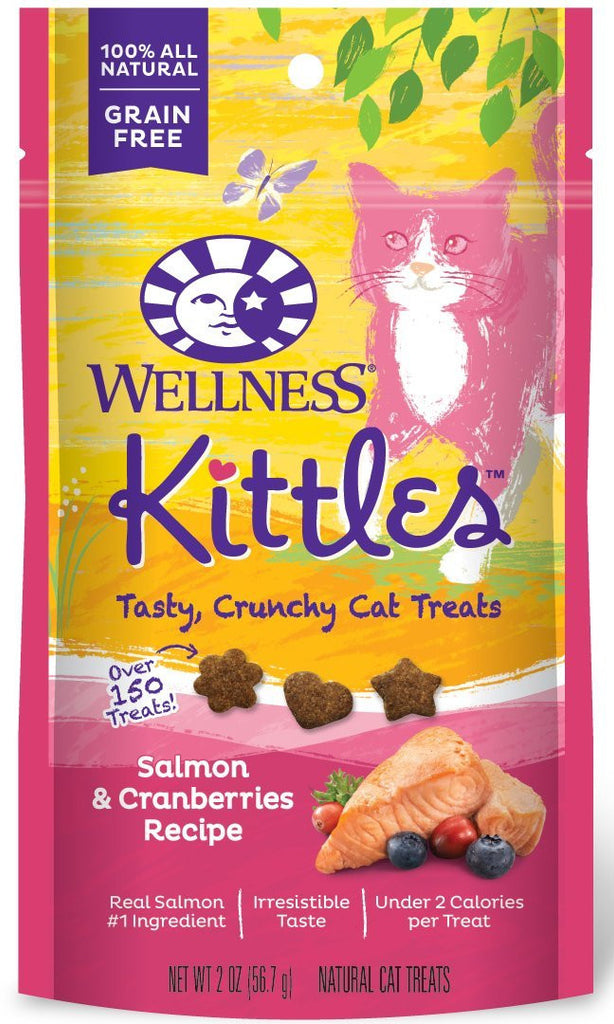 WELLNESS KITTLES SALMON & CRANBERRIES 2OZ