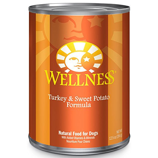 WELLNESS DOG TURKEY & SWEET POTATO RECIPE 12.5OZ
