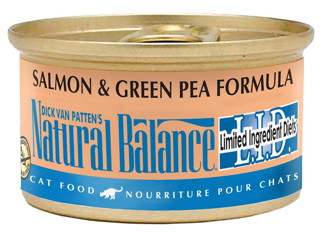 NATURAL BALANCE CAT LIMITED INGREDIENT DIET SALMON & GREEN PEA FORMULA 3OZ