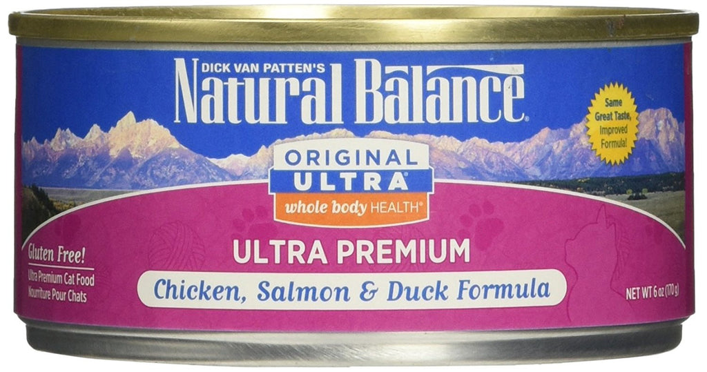 NATURAL BALANCE CAT ULTRA PREMIUM FORMULA 6OZ