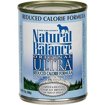 NATURAL BALANCE DOG REDUCED CALORIE 13OZ