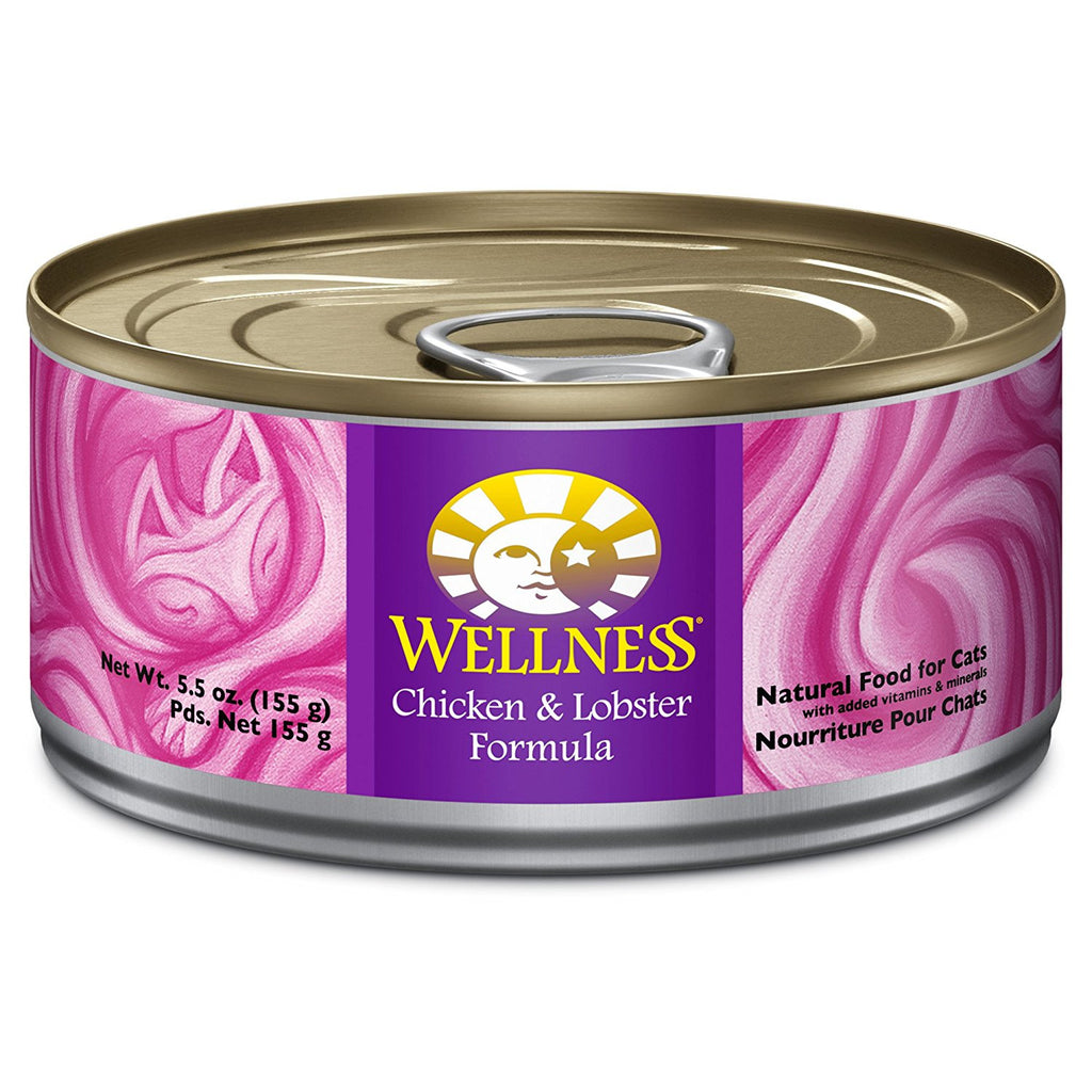 WELLNESS CAT COMPLETE HEALTH PATE CHICKEN & LOBSTER 5.5OZ