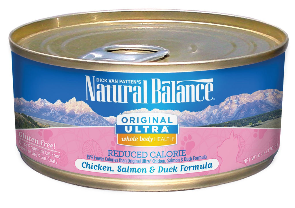 NATURAL BALANCE CAT REDUCED CALORIE FORMULA 6OZ
