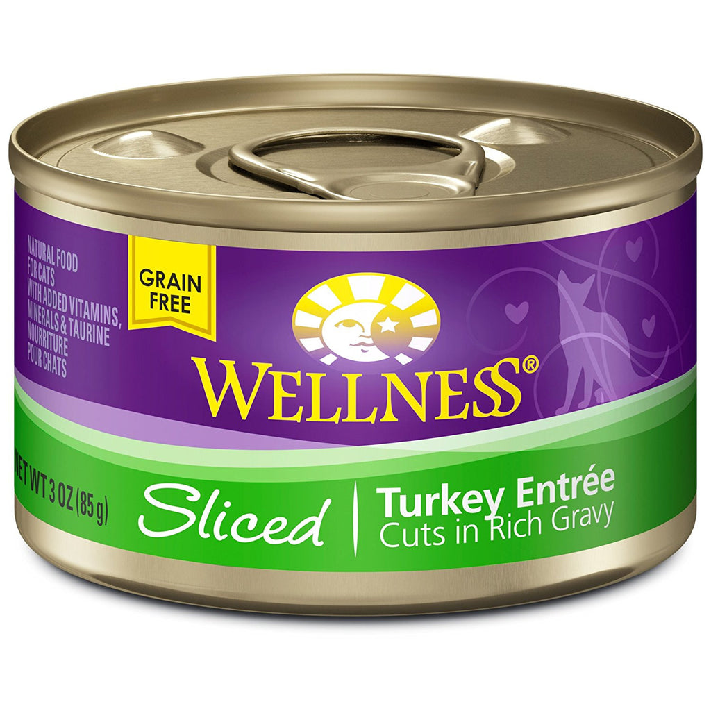 WELLNESS CAT COMPLETE HEALTH SLICED TURKEY 3OZ