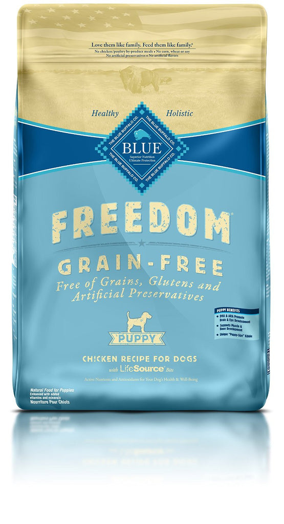 BLUE BUFFALO PUPPY FREEDOM GRAIN FREE CHICKEN 11LBS