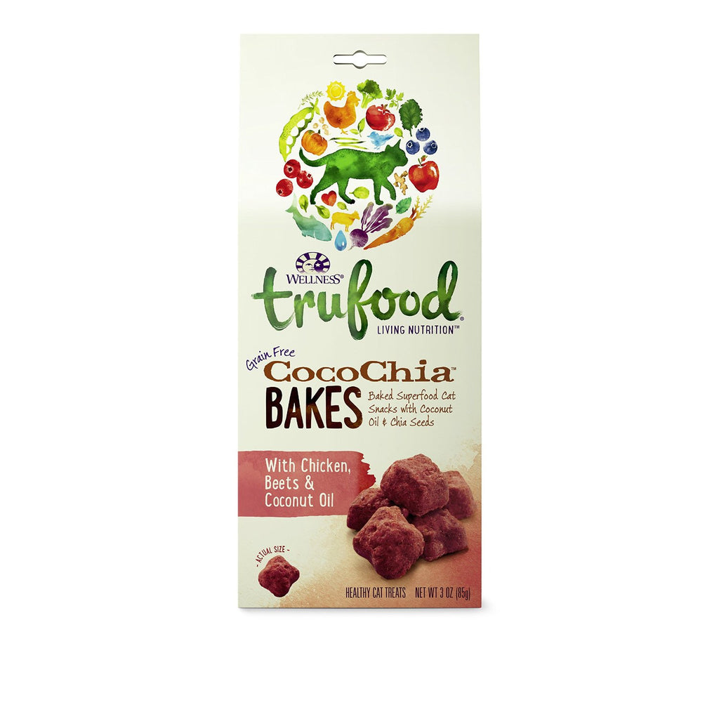 WELLNESS CAT TRUFOOD BAKES CHICKEN, BEETS & COCONUT OIL 3OZ