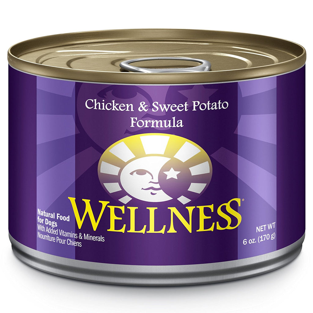 WELLNESS DOG CHICKEN & SWEET POTATO 6OZ