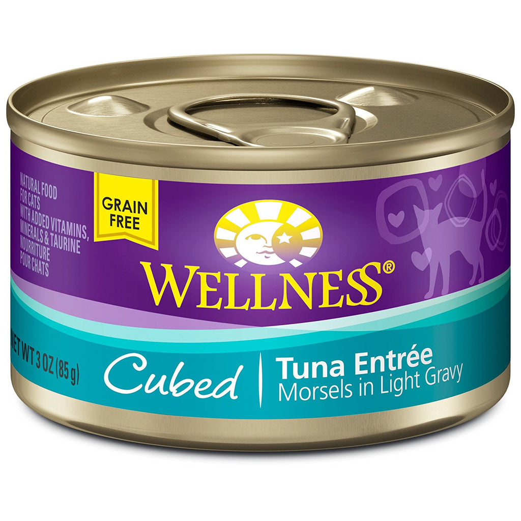 WELLNESS CAT COMPLETE HEALTH MORSELS TUNA 3OZ